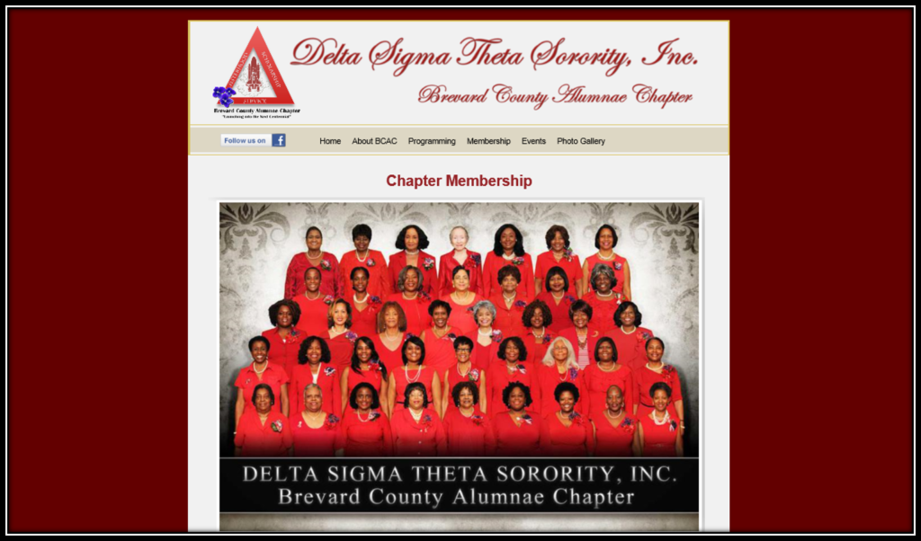 Delta Sigma Theta Sorority, Inc, Brevard County Alumnae Chapter