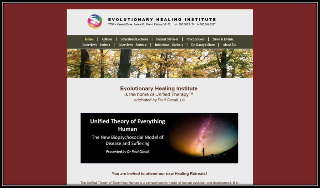 Evolutionary Healing Institute